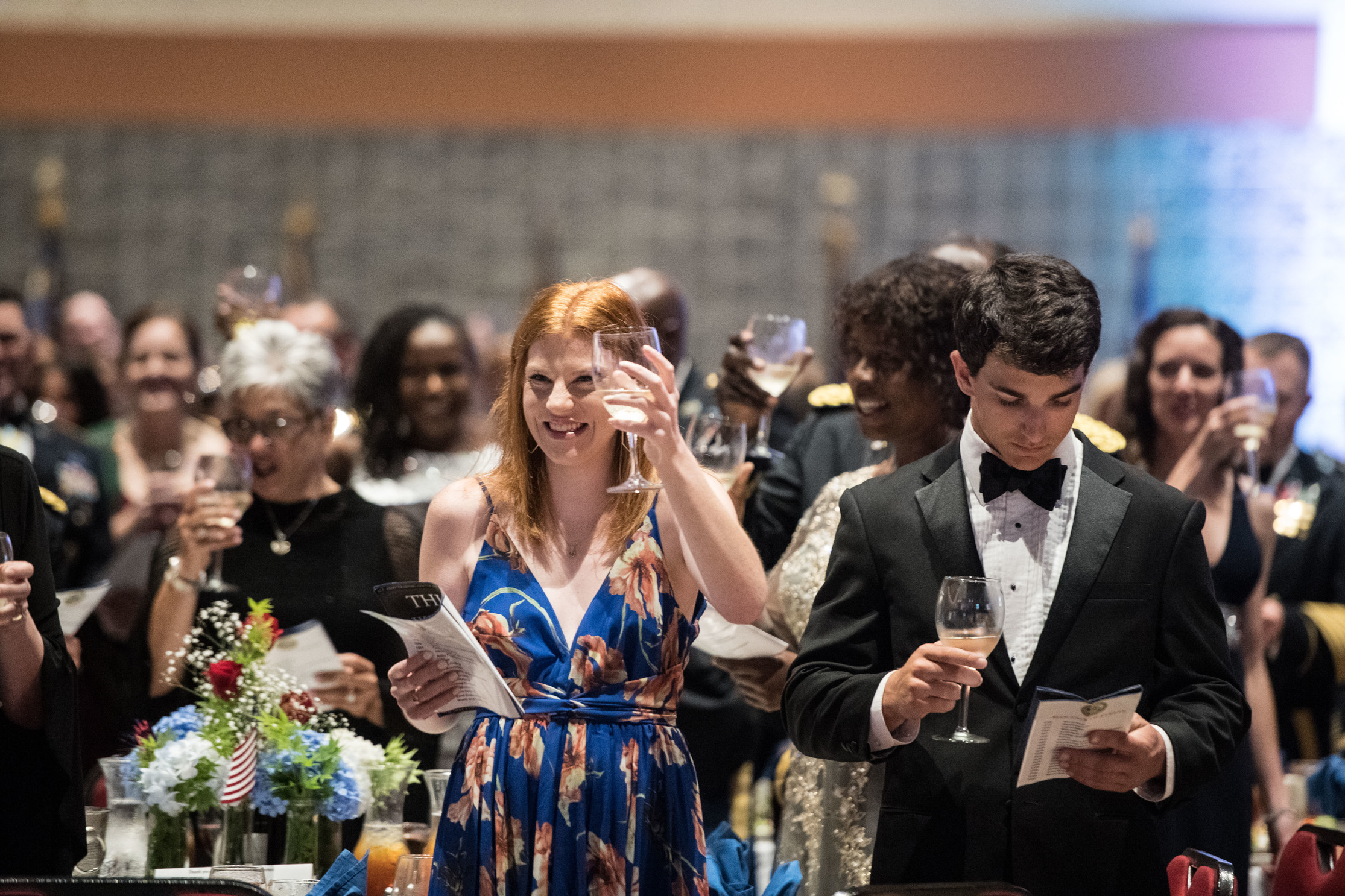 Toasts at the Army Ball